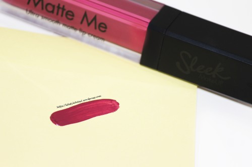 Sleek Makeup Matte Me Lip Cream